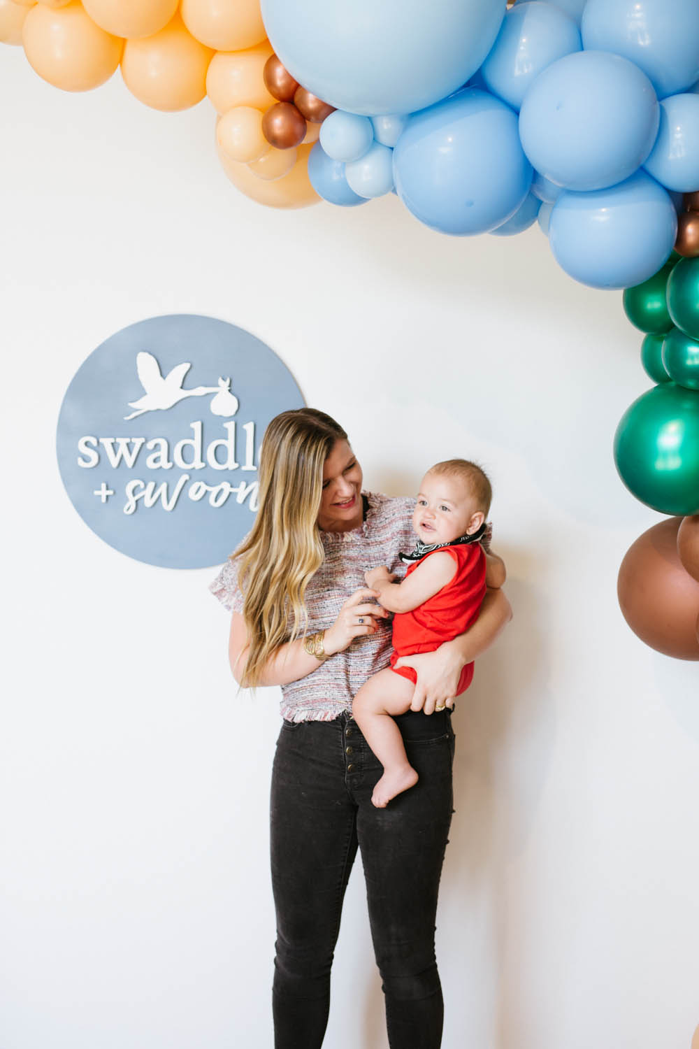 Baby shower ideas at Swaddle & Swoon