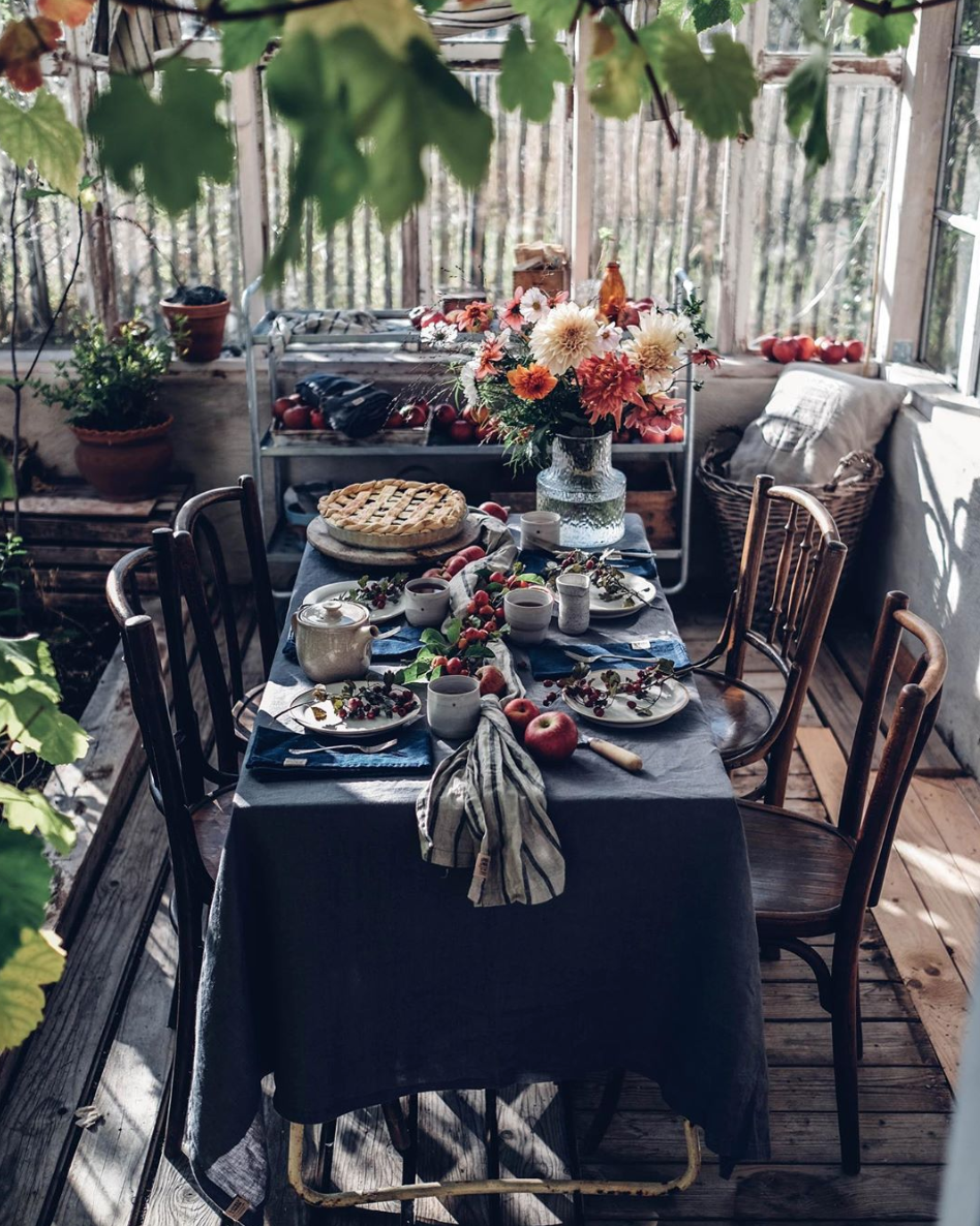 Our Food Stories Fall Tablescape