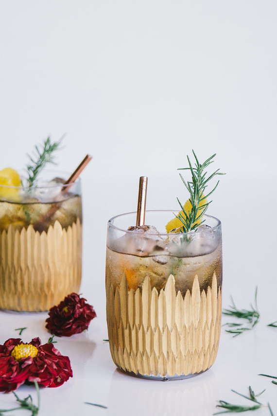 Queen Mary bourbon holiday cocktail by Barçon