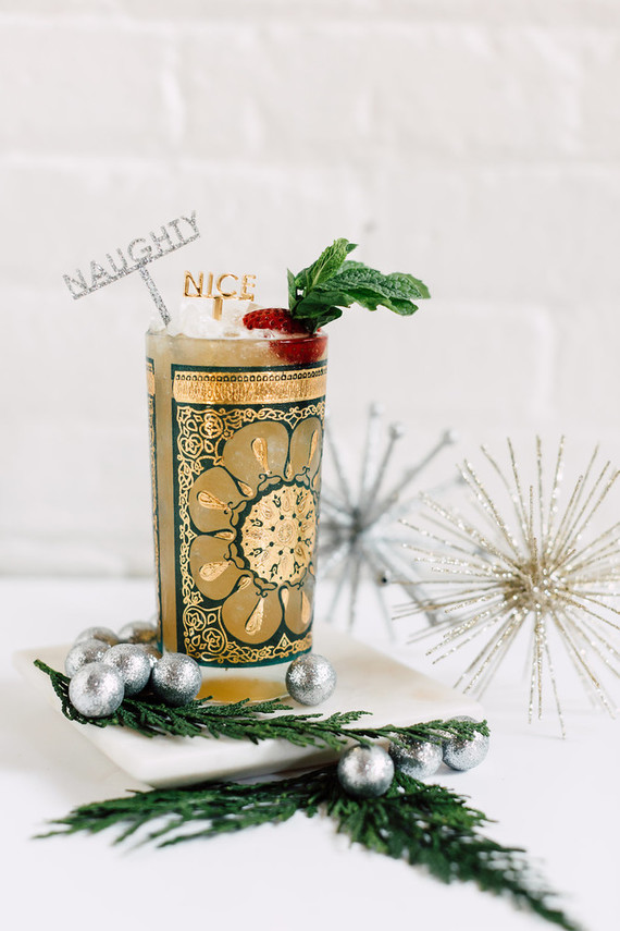 Winter Smash Holiday Cocktail
