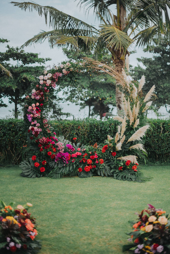 Unique ceremony arch ideas