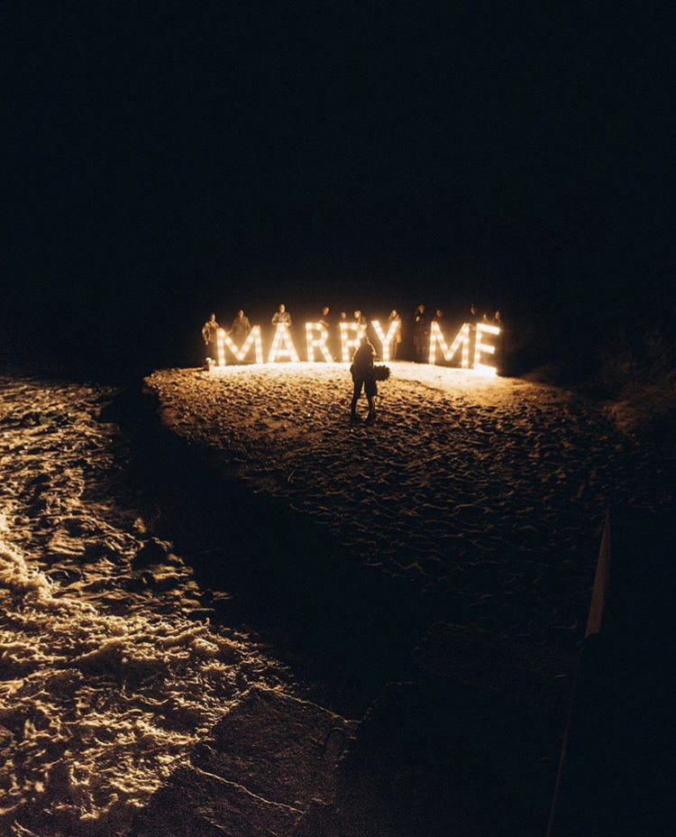 Amazing proposal photo