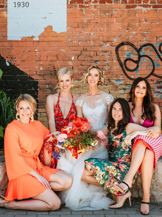 colorful bridesmaid dress ideas