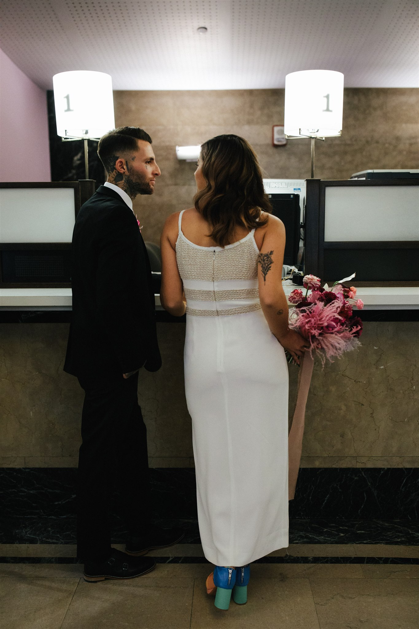 NYC City Hall Styled Shoot