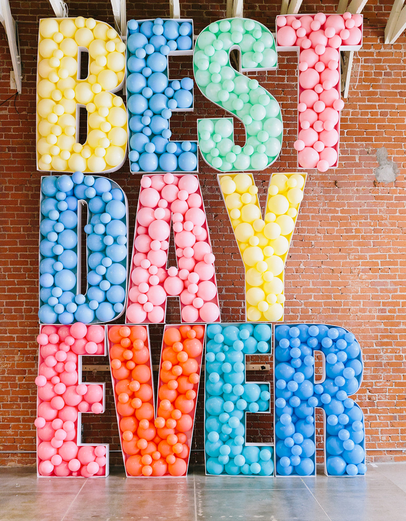 best day ever balloons