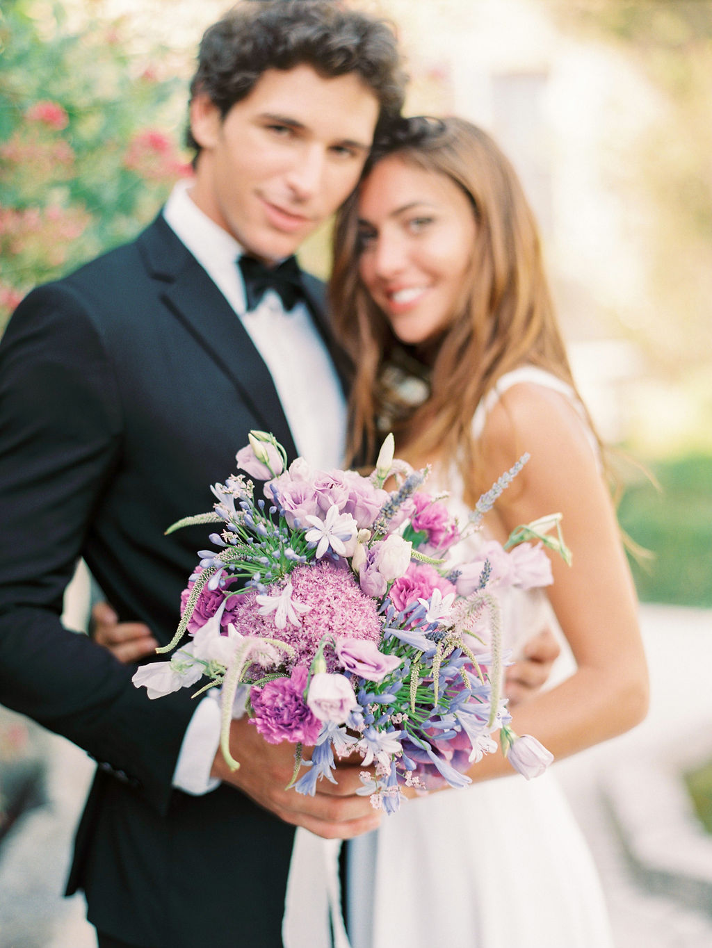 Lavender French wedding