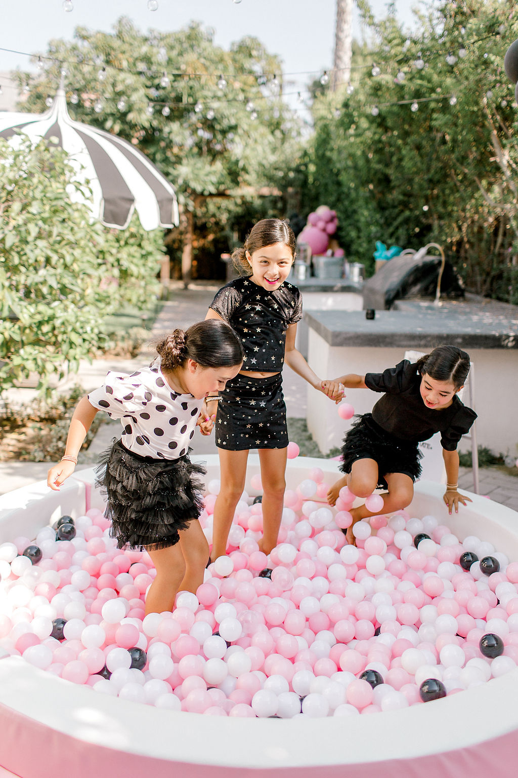French Patisserie themed kids birthday party