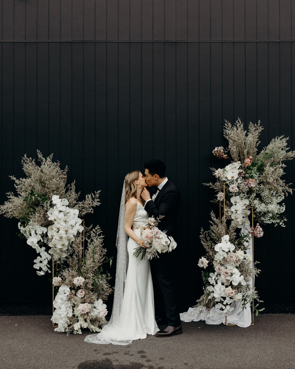 The pretty neutrals and florals in this Australian wedding will have you swooning